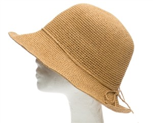 straw ladies bucket hats for summer