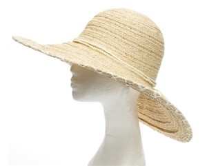 straw ladies floppy hats la