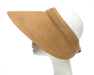stylish ladies sun visor hats for summer
