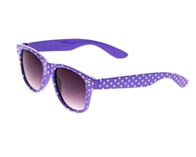 Unique Sunglasses Kids Retro Polka Dot UV Sunglasses