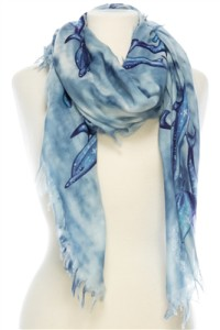 ladies beach scarf