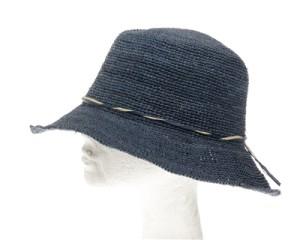 9ddf0173 navy blue bucket organic raffia straw womens sun hats