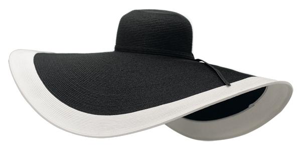 Oversized Beach Hat California Style Boardwalk